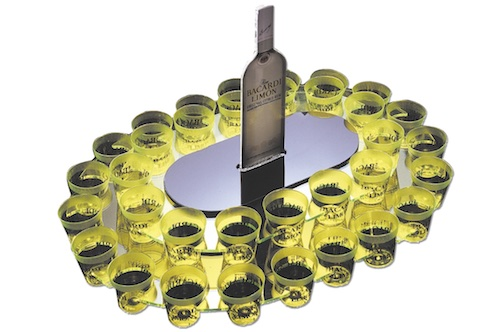 Bacardi limon shotholder_acrylic