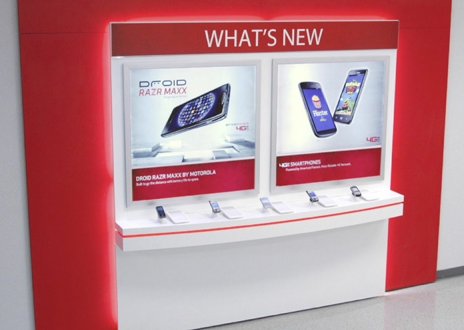 Verizon Whats New Display Wall - Version 2 923x657