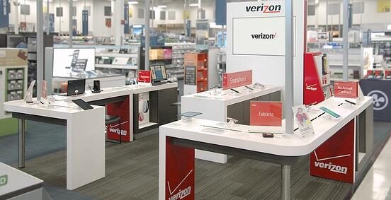 Verizon Best Buy Store Within a Store Kiosk