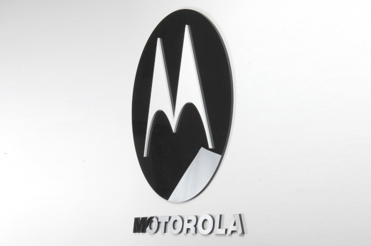 Motorola 3D Acrylic Wall Sign Plaque 740x492