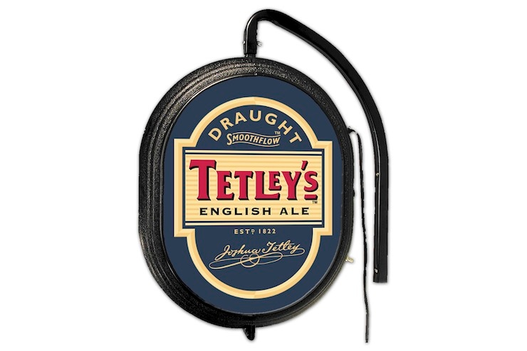 Tetleys Illuminated Pub Sign 740x492