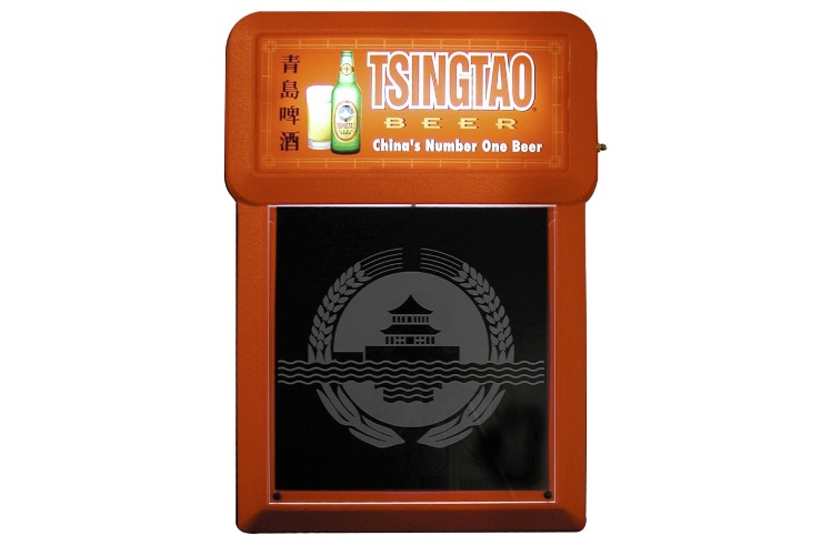 TsingTao illuminated menu board MB2000 740x492