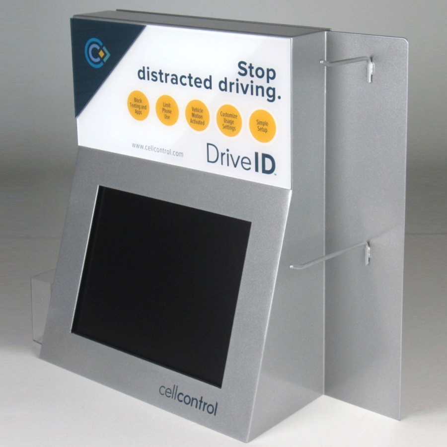 Cell Control Drive ID Distracted Driving Display 1200x900