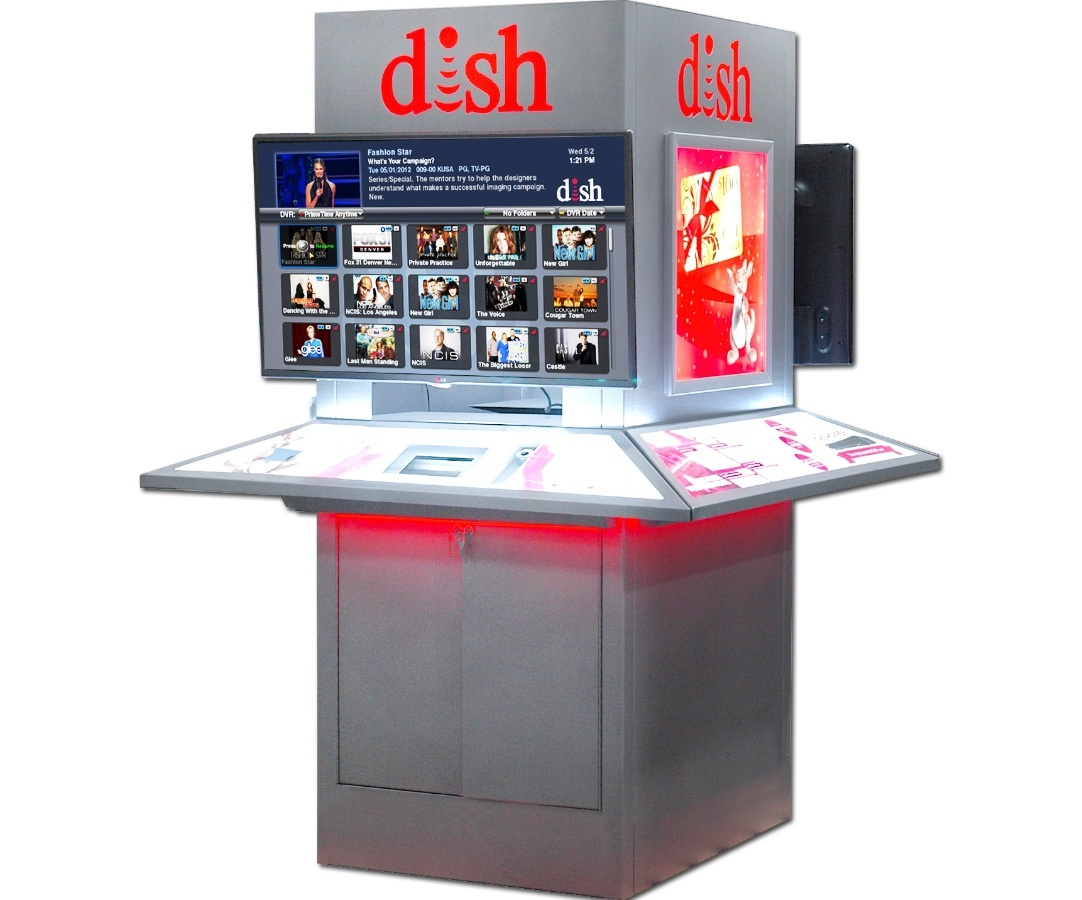 Dish Holiday Metal Kiosk KDDID016 1200x900