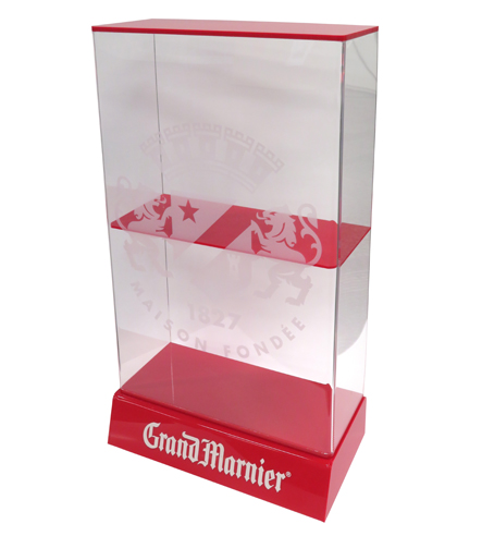 Grand Marnier Bottle Glorifier Acrylic Stand Countertop Display Case 492
