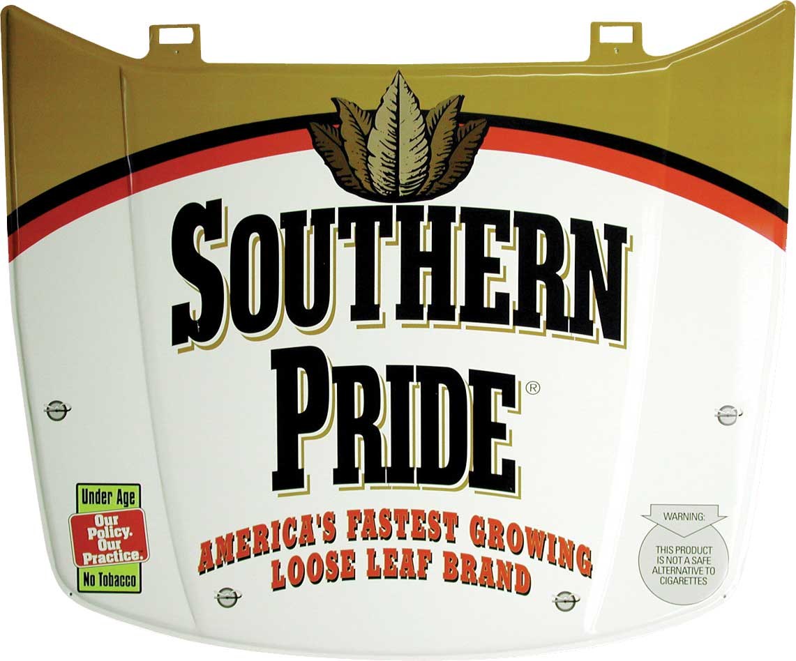 Southern-Pride-Car-Hood-Metal-Tacker-Tobacco